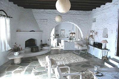 Traumhaus innen  Paros